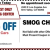 Simi Test Only Smog Centers