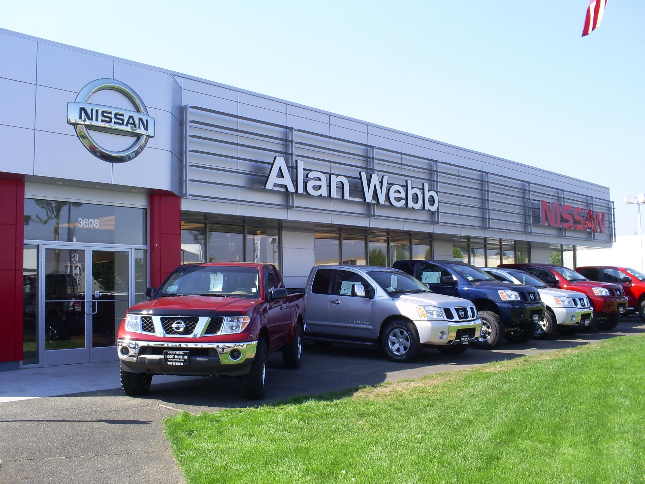 Alan Webb Nissan >> Alan Webb Nissan 3608 Ne Auto Mall Dr Vancouver Wa 98662