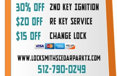 Locksmiths Cedar Park TX - Cedar Park, TX