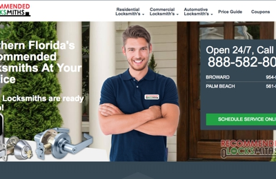 Recommended Locksmiths - Hallandale Beach, FL
