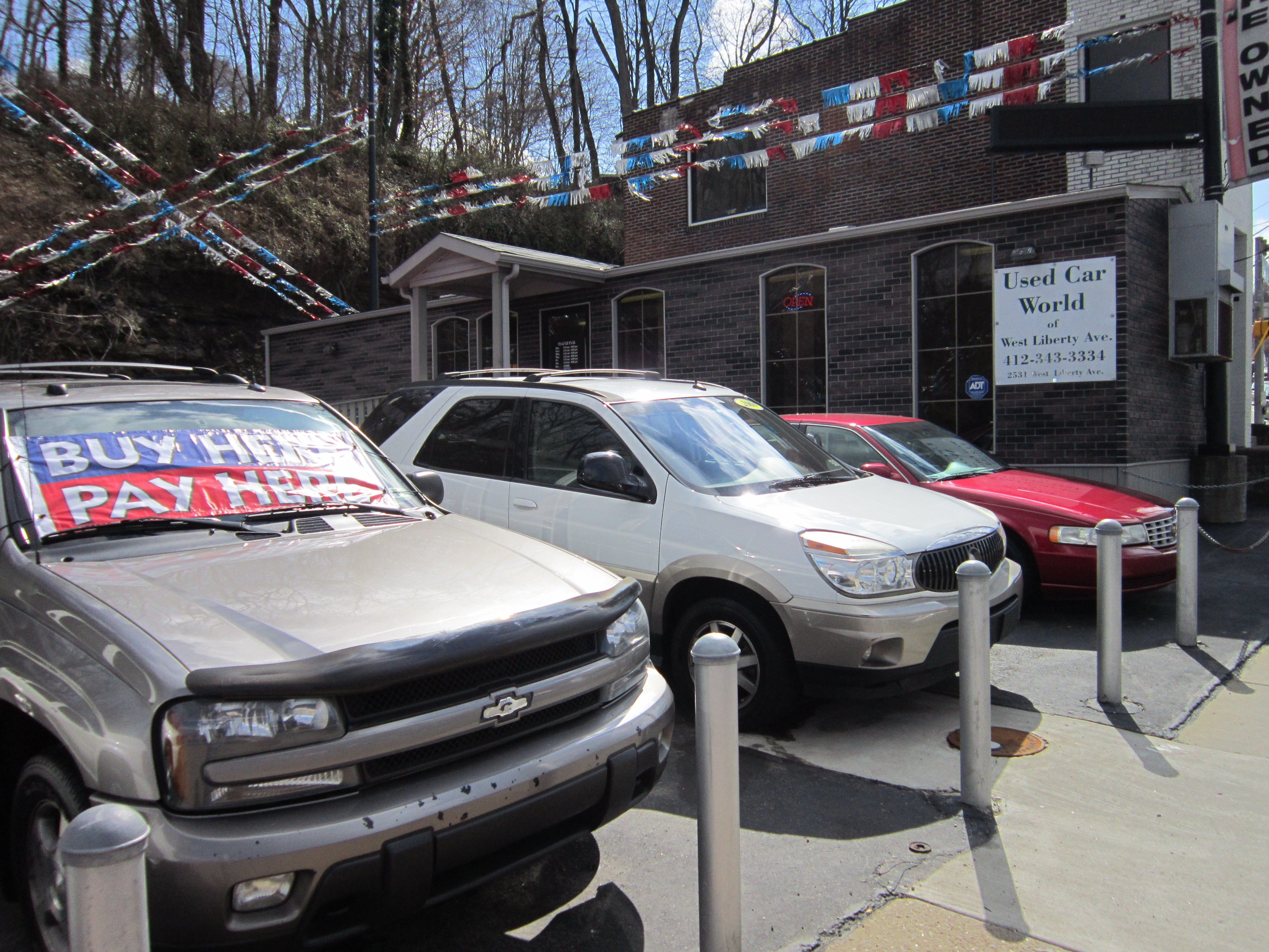 Used Car World West Liberty 2531 W Liberty Ave Pittsburgh PA
