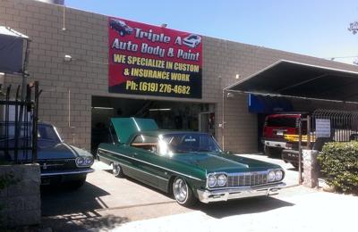 Triple A Auto Body & Paint - San Diego, CA