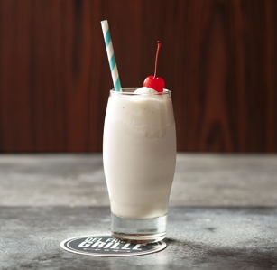 Alcoholic ice cream drinks at Del Frisco's Grille