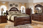 Review 1StopBedrooms products - Gabriela Poster Storage Bedroom Set
