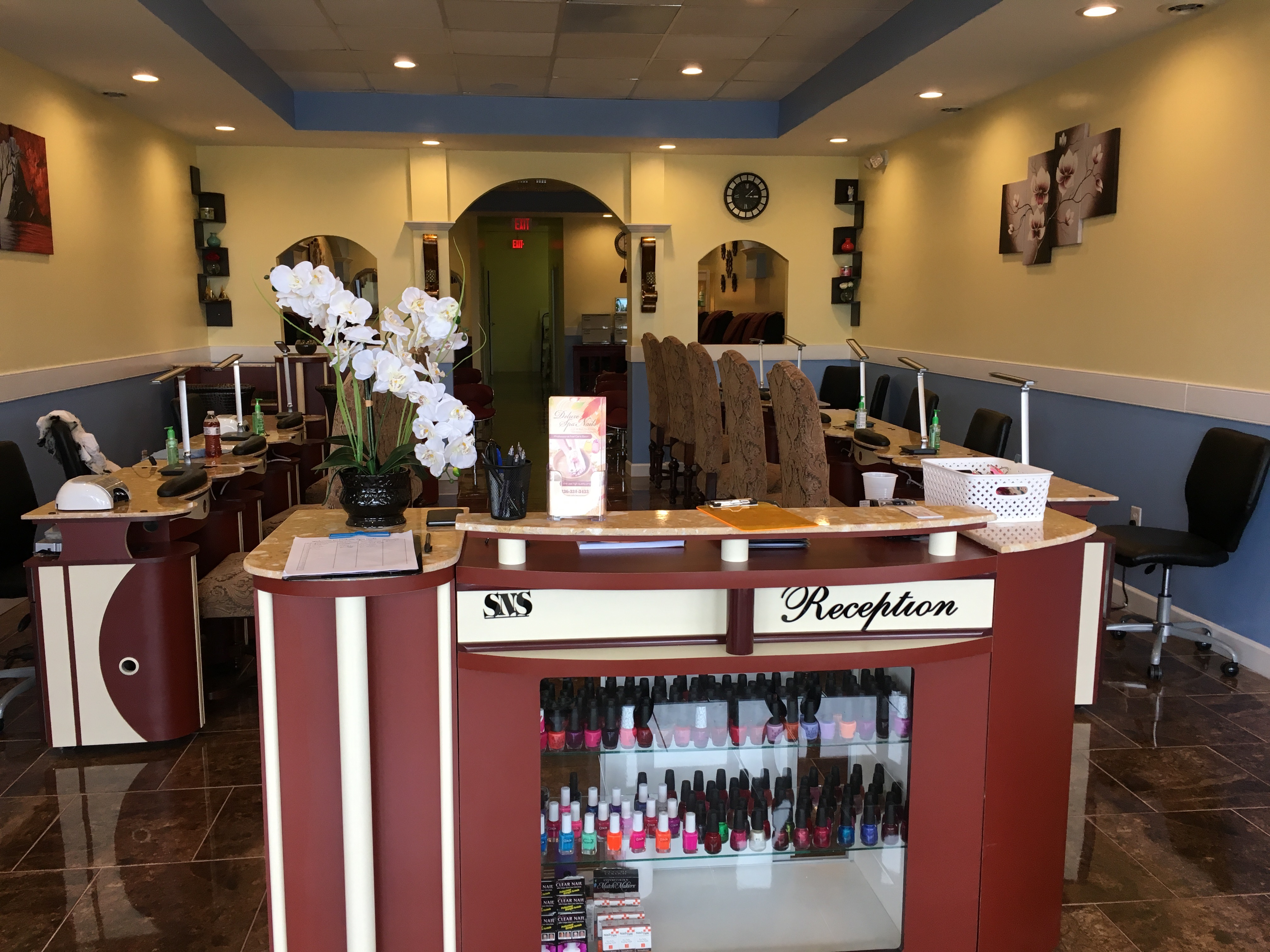 Deluxe Spa Nails 160 Westwood Village Dr, clemmons, NC 27012 - YP.com