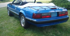 Heinz Service Auto Center - Milwaukee, WI. 1989 Mustang sold to Texas