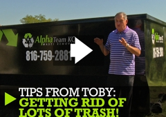Alpha Team KC Dumpster Rental - Kansas City, MO