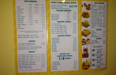 Shark's Fish & Chicken - Bellwood, IL