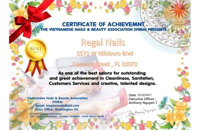 Regal Nails - Coconut Creek, FL