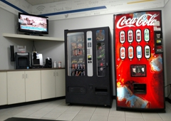 NTB National Tire & Battery - Lewisville, TX. Wi-Fi, TV, vending machines and coffee in the waiting area