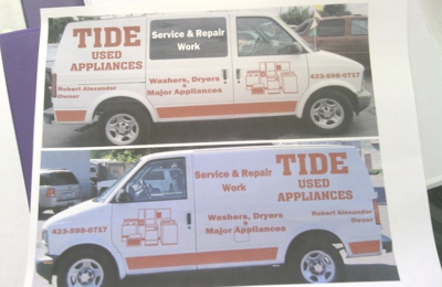 Tide Used Appliances Service & Repair