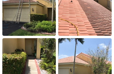 AR&D Inc. Pressure Cleaning - Southwest Ranches, FL. AR&D Inc. Roof Cleaning, Weston, FL.