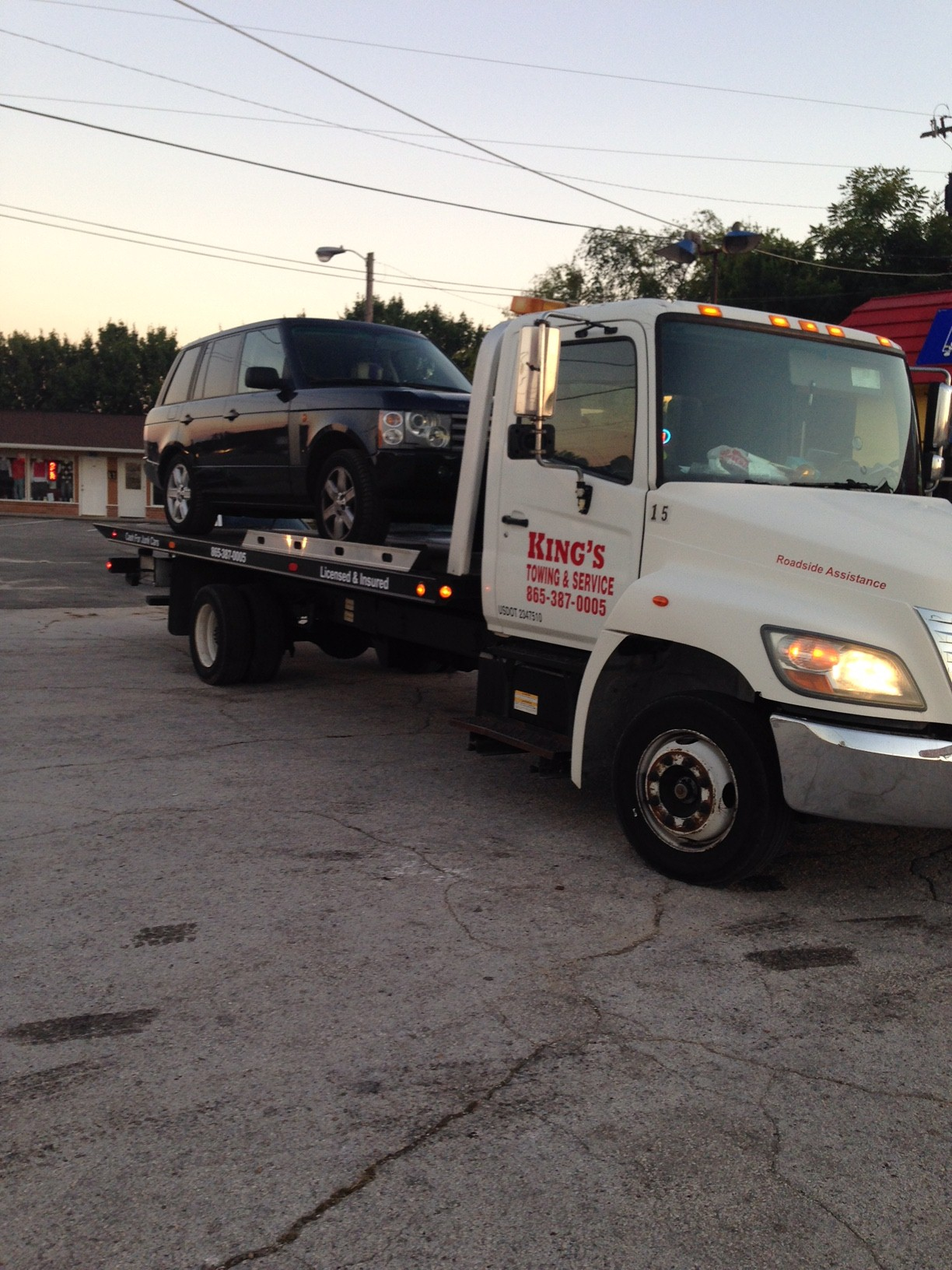 Kings Towing Service 4657 Western Ave Knoxville Tn 37921