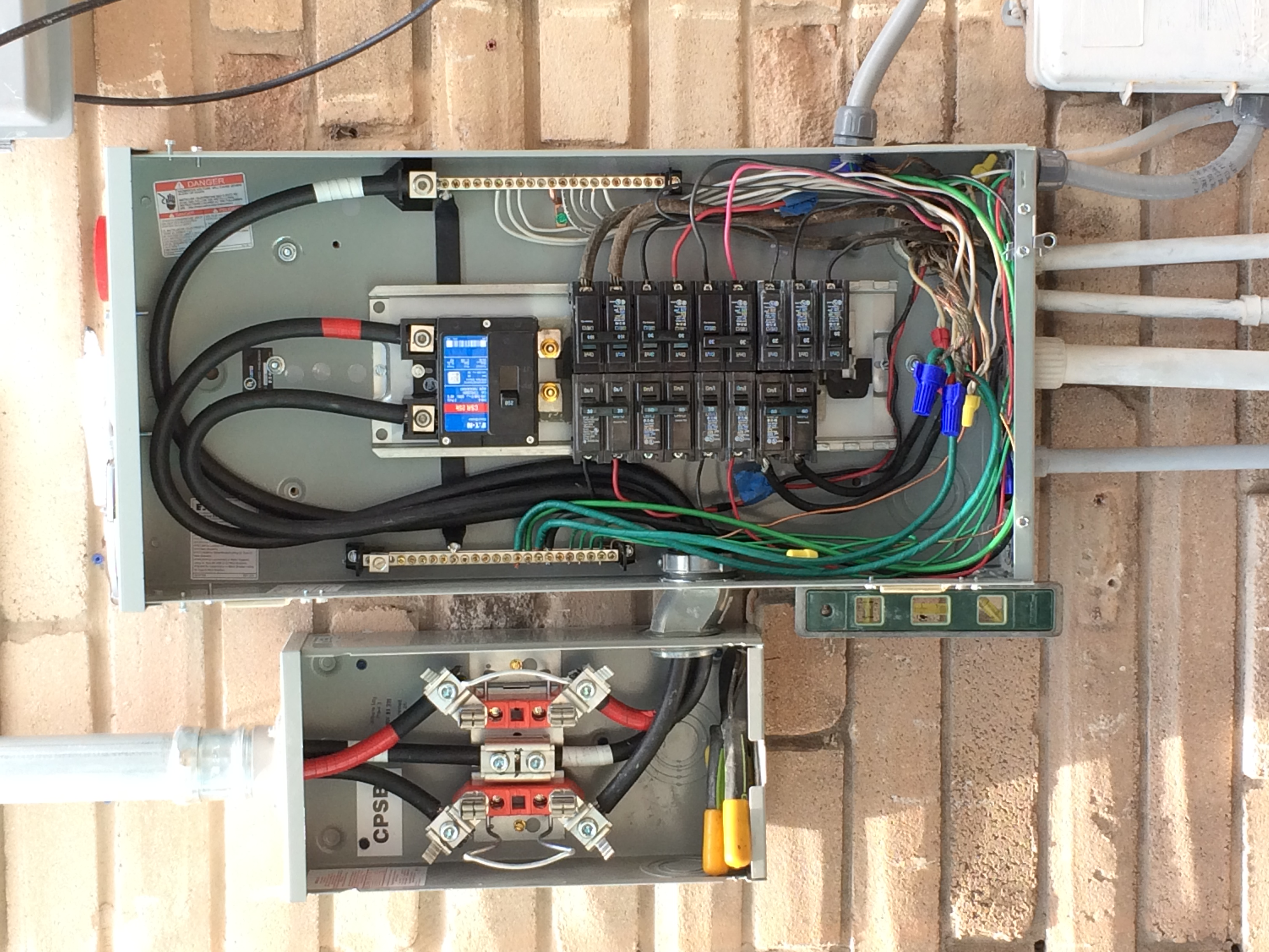 How To Connect Electrical Wire To A Circuit Breaker Ypcom - Wire ...