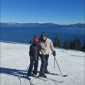 Ski Homewood - Homewood, CA. Best views of the lake up top!