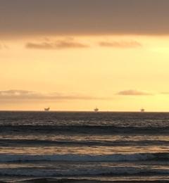 Carpinteria State Beach - Carpinteria, CA. Sunsets are amazing.