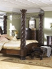 Review North Shore Poster Canopy Bedroom Set on 1StopBedrooms website