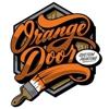 Orange Door Painting
