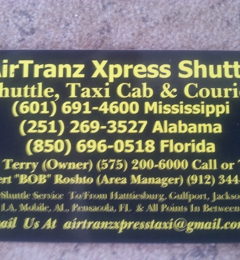 AIRTRANZ XPRESS (AIRPORT TAXI) SHUTTLE - Biloxi, MS