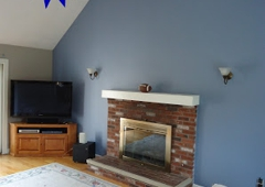Jcb Painting - Norton, MA. Accent wall painting by Jcb Painting.