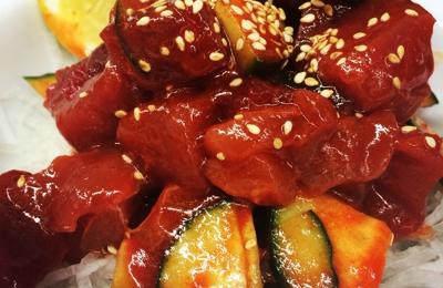 Sushi & Sushi Restaurant - Anchorage, AK. Spicy tuna poki