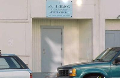 Mount Herman Missionary Baptist Church - San Francisco, CA