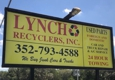 Lynch Recyclers Inc - Bushnell, FL. Business Sign