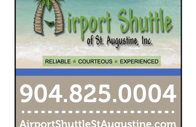 Airport Shuttle Of St Augustine Inc - Saint Augustine, FL