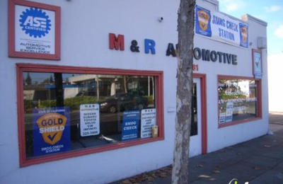 M & R Automotive - Menlo Park, CA