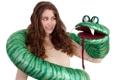 Circus Hill - Maplewood, NJ. Big Fat Green Snake