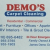 Demo's Carpet Cleaning Service