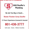 AAA Stauffer's Plumbing