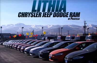 Lithia Chrysler Jeep Dodge >> Lithia Chrysler Jeep Dodge Ram Of Pocatello 633 Bullock St