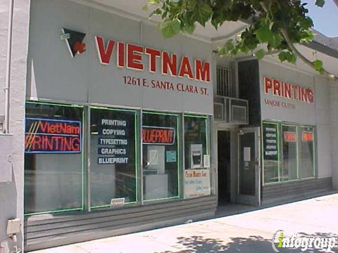 Vietnam printing 1261 e santa clara st san jose ca 95116 yp malvernweather Choice Image