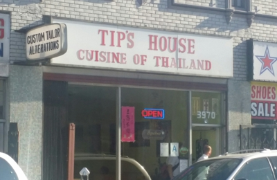Tip's House - Los Angeles, CA. The serving is alot specially the pad thai is awesome