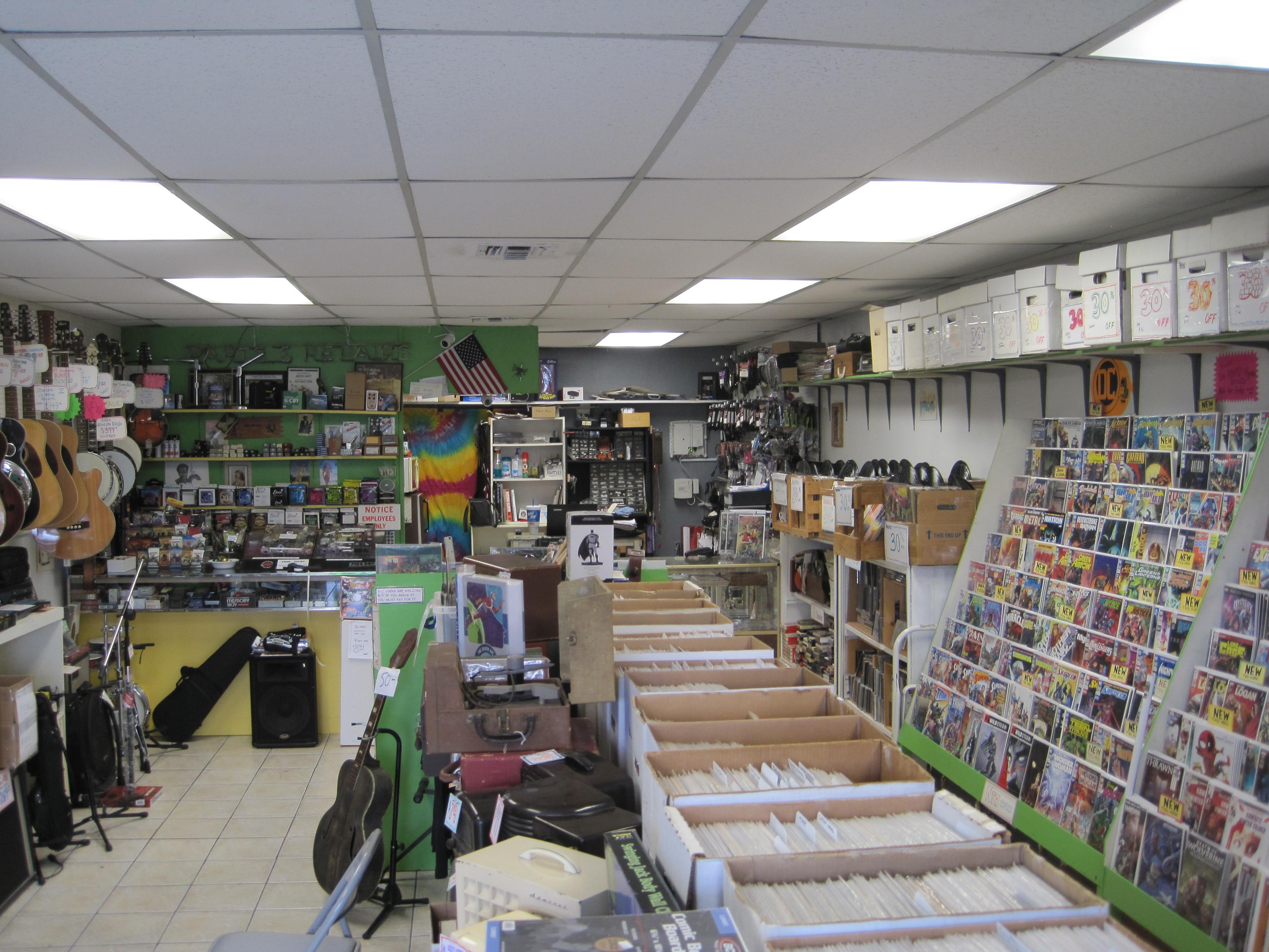 Green Shift Comics 5226 N Nebraska Ave Tampa Fl 33603 Ypcom