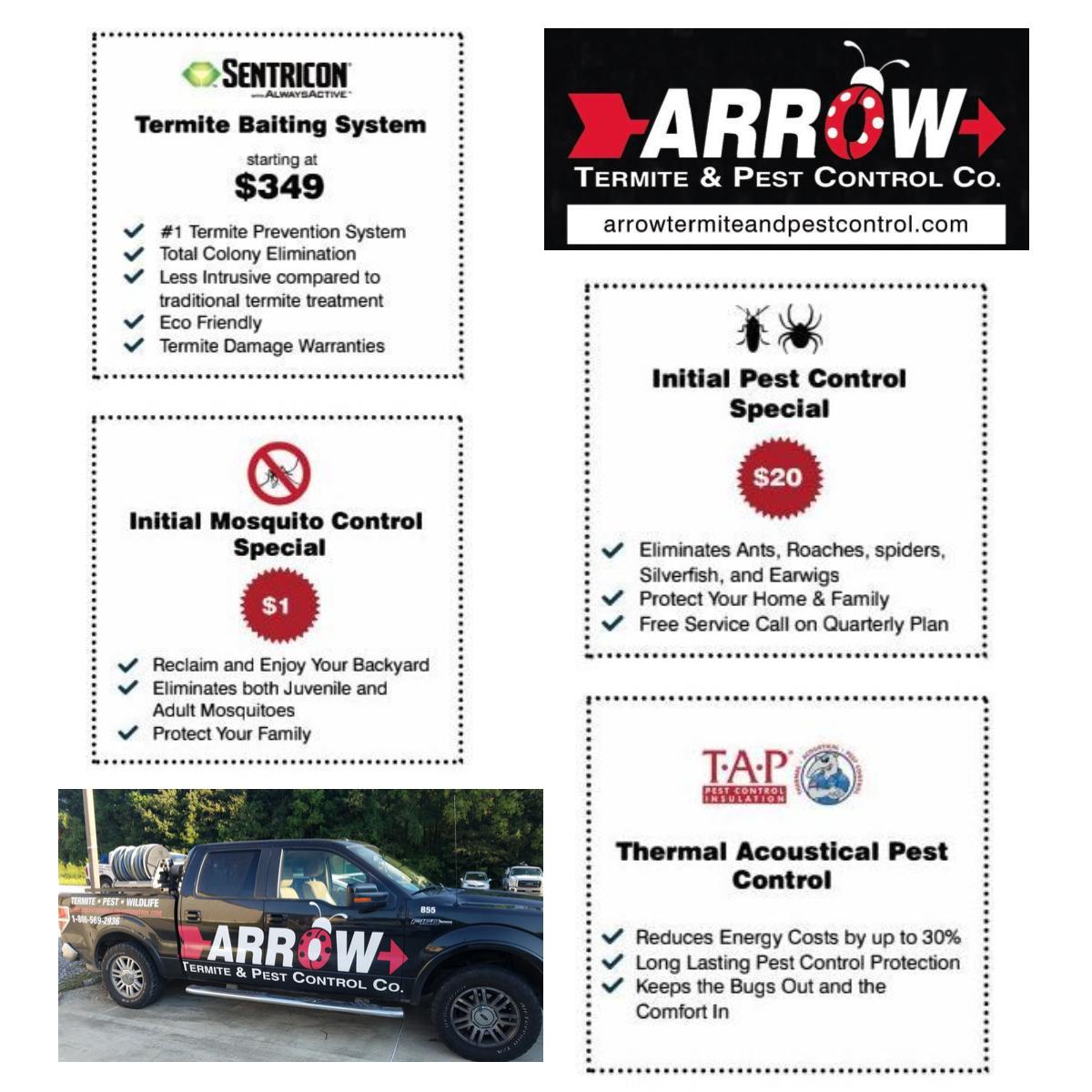 Arrow Pest Control 4720 Jones Creek Rd Baton Rouge La