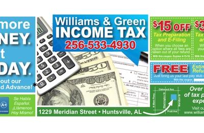 Williams & Green Bookkeeping & Tax Service Inc - Huntsville, AL