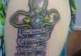 123 East Coast Ink - Easley, SC. Thanks Bam!! Absolutely love my new tattoo.