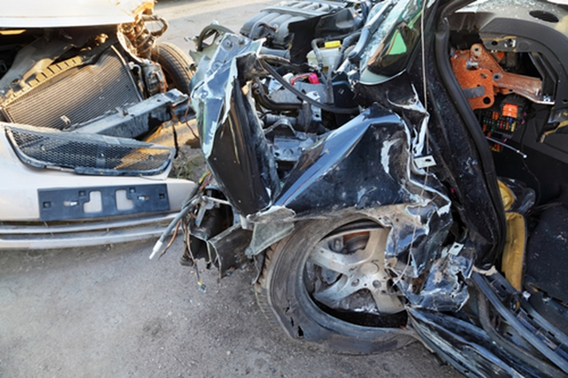 Even totaled cars can provide valuable parts at salvage yards.