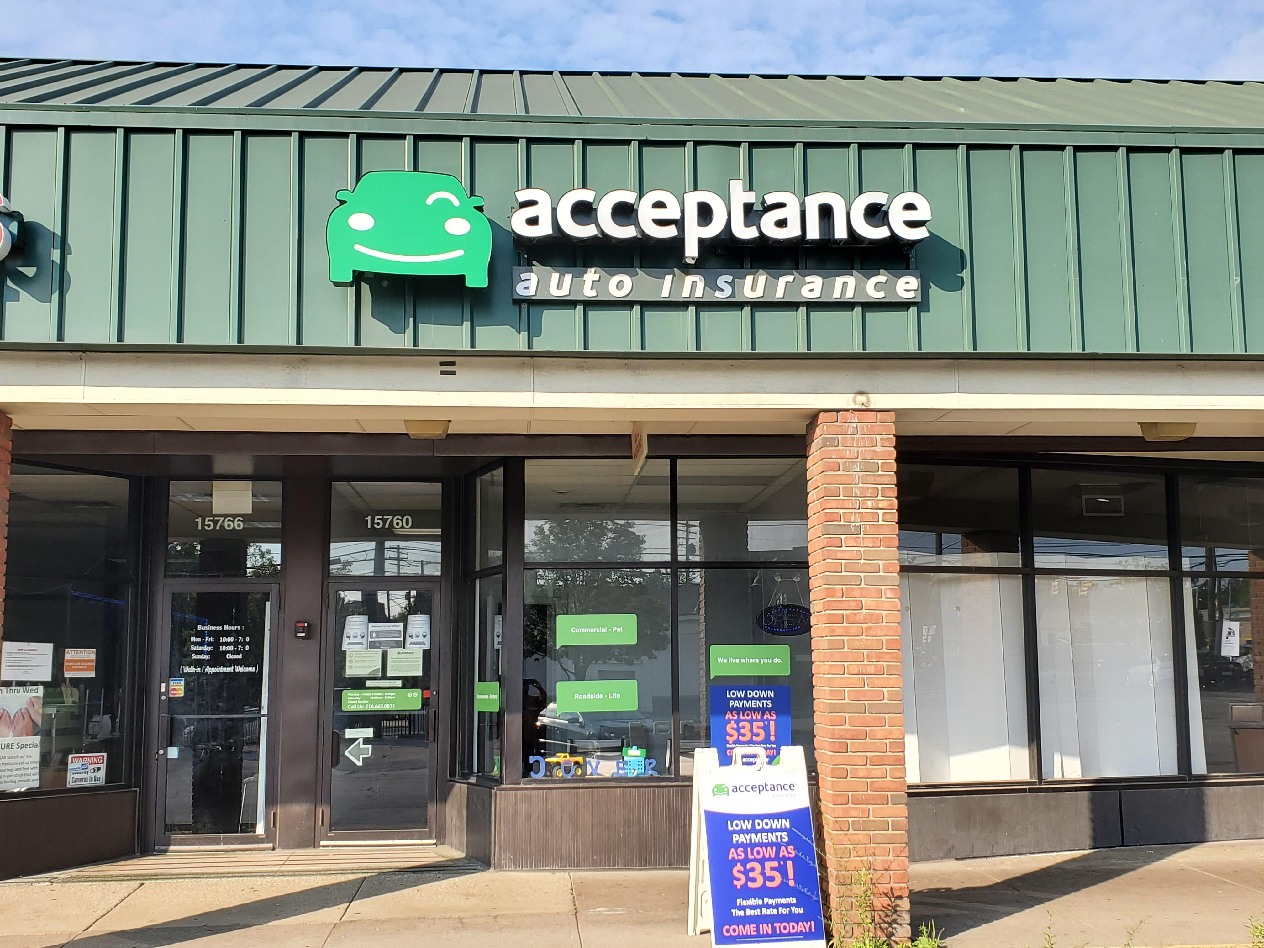Acceptance Insurance 15760 Broadway Ave Maple Heights Oh 44137 Yp Com