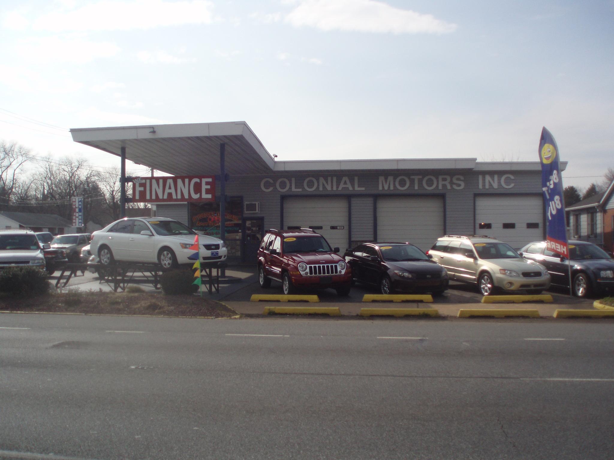 Colonial Motors 205 N Dupont Blvd Smyrna DE YP