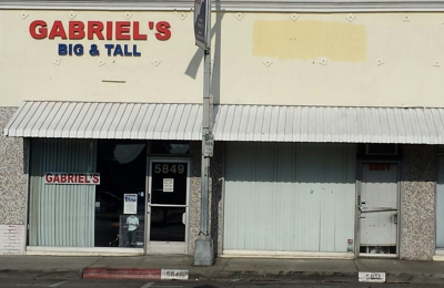 Gabriel's Big & Tall Mens - Temple City, CA. Outside