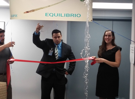 Ecuilibrio Home Health - Virginia Beach, VA. Grand opening and Ribbon cutting ceremony in February 2016.