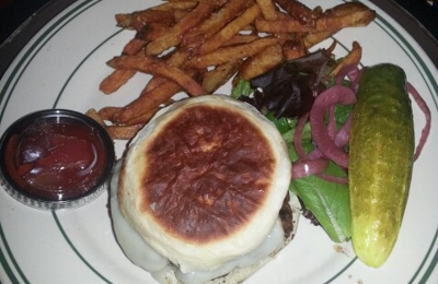 Dakota of Rocky Hill - Rocky Hill, CT. Awesome Swiss cheese burger! Yummm... delivered right to my hotel room