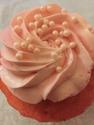 Guava cupcake