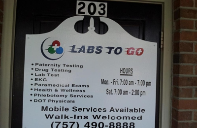 LABS TO GO - Virginia Beach, VA