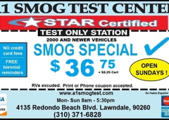 A1 Smog Test Center - Lawndale, CA
