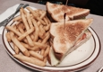 Blueberry Hill Family Restaurant - Las Vegas, NV. Turkey sandwich and fries!