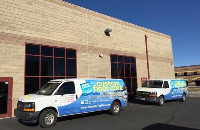 Custom Floor Care - Reno, NV. van mounted eco diesel powered